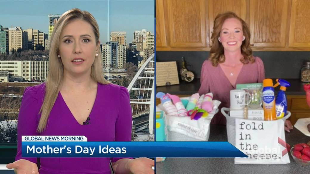 Click to play video: 'Creative mom-to-mom gift ideas for Mother's Day'