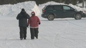 Edmontonians brave deep freeze as winter warnings kick in