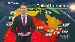 Saskatchewan weather outlook: July 27 (02:34)
