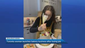 Toronto woman creates successful baking company after losing her job during the COVID-19 pandemic (04:35)