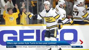 Edmonton Oilers sign Kyle Turris in free agency