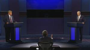 US Presidential debate: Trump pushes Biden on his son Hunter and dealings with Burisma