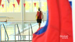 COVID-19 and lack of lifeguards result in kids not getting swimming lessons in Alberta (01:42)