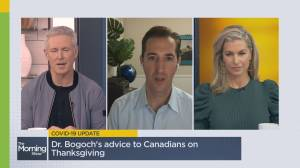 COVID-19 guidelines to ensure a safe Thanksgiving (06:01)