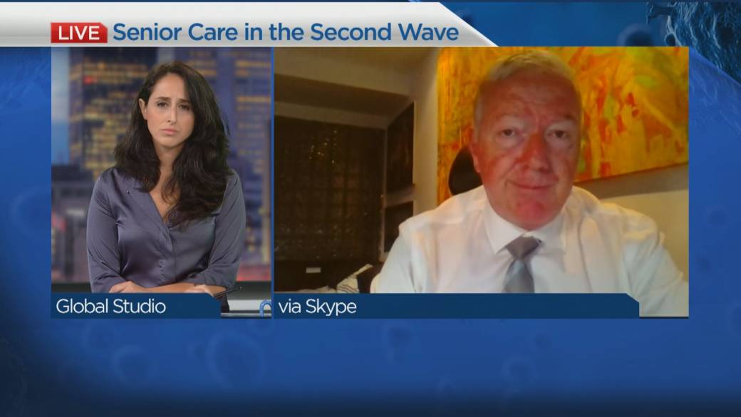Click to play video 'The state of seniors' homes at the start of the second wave'