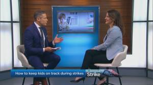 How to keep kids on track during strikes