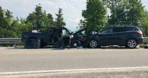4 taken to hospital following head-on collision on County Road 36 in Kawartha Lakes (00:24)