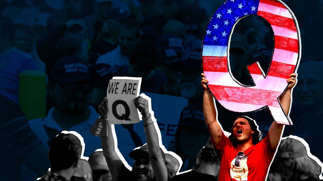 Click to play video 'US election misinformation: What is QAnon and how much of a threat is it to democracy?'
