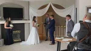 Online Weddings?: Okanagan bride questions need for in person ceremonies