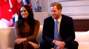 Prince Harry and Meghan visit Canada House after spending holidays in B.C. (06:03)