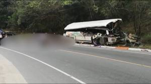 Truck, bus collide in Guatemala killing several people