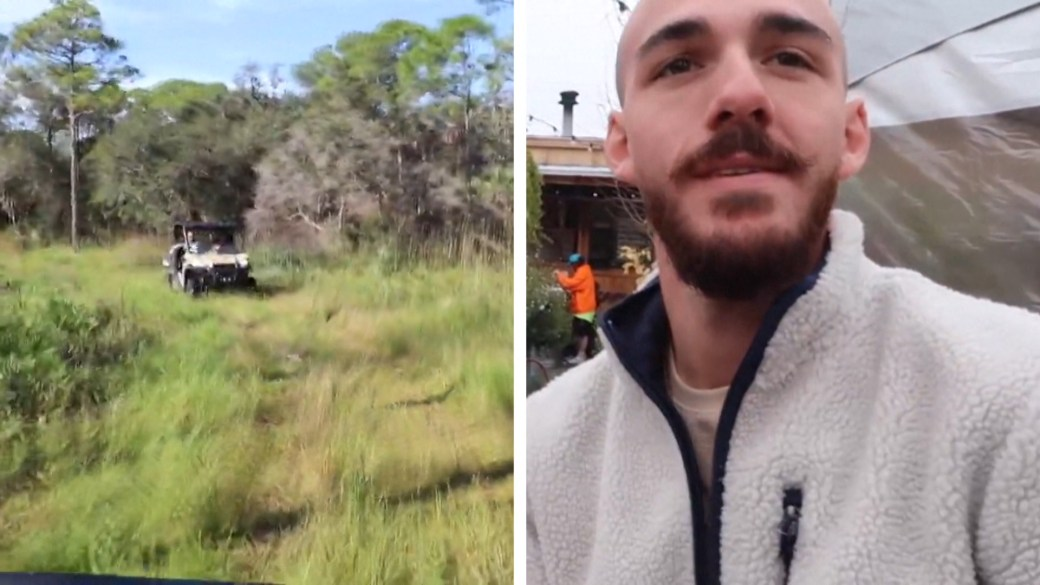 Click to play video: 'Gabby Petito case: Search for Brian Laundrie in Florida wilderness enters 6th day'