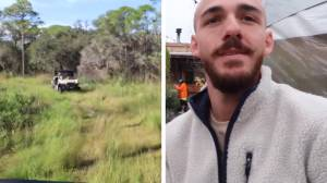 Gabby Petito case: Search for Brian Laundrie in Florida wilderness enters 6th day (02:10)