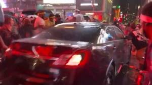 Daniel Prude protests: Car drives through crowd of BLM demonstrators in New York City