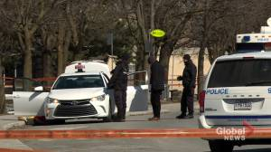 Man and woman found dead inside Montreal taxi (01:45)