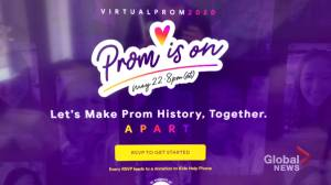 Canadian high school students set up cross-country virtual prom