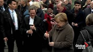 Germany, Angela Merkel mark 30th anniversary of Berlin Wall