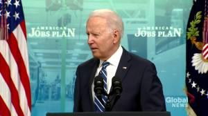 Biden on June jobs report: 'This is historic progress' (00:42)