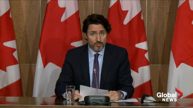 Click to play video: Trudeau announces major deal with Pfizer to provide COVID-19 booster shots