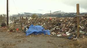 Clean-up efforts to resume at infamous Penticton-area waste pile (01:33)