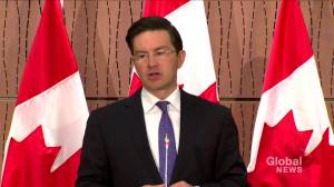 Conservative's Pierre Poilievre questions Trudeau-WE Charity controversy