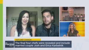 Married couple make history on Top Chef Canada (02:53)