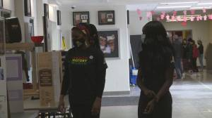 Chinook High School amps up Black History Month awareness in Lethbridge (01:44)