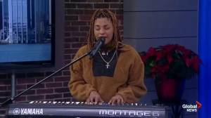 Award-Winning Artist, Reeny Smith, Performs on Global News Morning