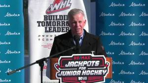Jackpots for junior hockey as the new season begins (02:03)