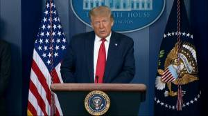 Coronavirus: Trump says U.S. economy is 'roaring back' as they 'put out the flames' of COVID-19