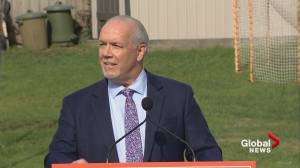 B.C. NDP Leader John Horgan calls snap election for Oct. 24
