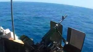 U.S. military releases video of close encounter with Iranian military vessels in the Strait of Hormuz (02:15)
