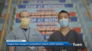 St. Michael's Hospital's 2020 Angels Den competition crowns new winners (04:49)