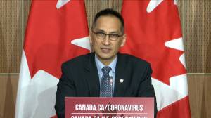 Coronavirus: Initial supply of COVID-19 vaccine in Canada to be around 3 million vaccinations (01:25)