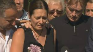 Grieving mother speaks as Quebec manhunt intensifies