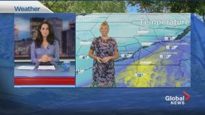 Global News Morning weather forecast: Tuesday, October 20, 2020 (01:40)