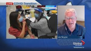 Alberta's former top doctor significantly concerned with plan to lift COVID-19 rules (07:09)