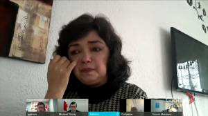 Uyghur woman says alleged sterilization left her permanently handicapped, says she wants to 'speak the truth' (03:44)