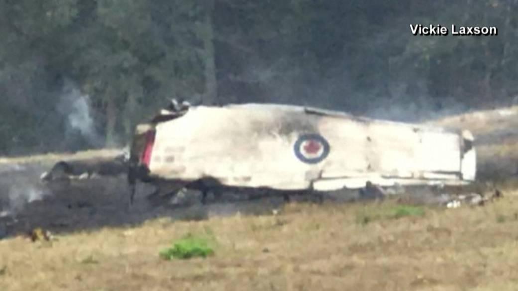 Canadian Snowbirds pilot unhurt after ejecting from aircraft at Atlanta airshow