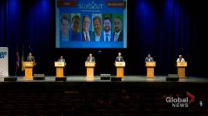 Saskatoon mayoral candidates meet in first debate of 2020 civic election