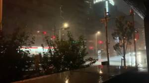 Typhoon Faxai makes landfall in Japan as heavy rain lashes Tokyo