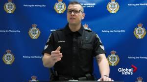 Man arrested and charged after violent assault on SkyTrain custodian (01:16)