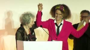 Margaret Atwood, Bernardine Evaristo share 2019 Booker Prize