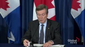 Coronavirus outbreak: Toronto cancels all public events through June 30