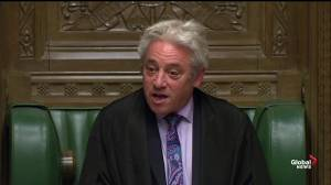 U.K. lawmakers reject Boris Jonhson's request to hold early election
