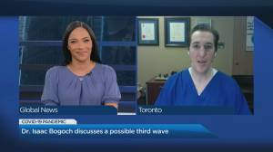 Doctor weighs in on Ontario's reopening plan amidst a possible third wave (04:47)