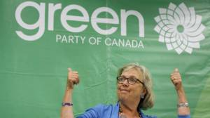 Green leader Elizabeth May launches election campaign