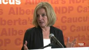 Notley calls Bill 22 'undemocratic,' aims to stop it