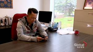 Calgary business owner speaks out following hate-filled verbal attack (02:04)