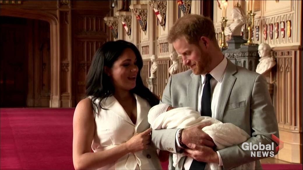 Click to play video 'Harry and Meghan sue paparazzi over 'illegal' photos of son Archie'